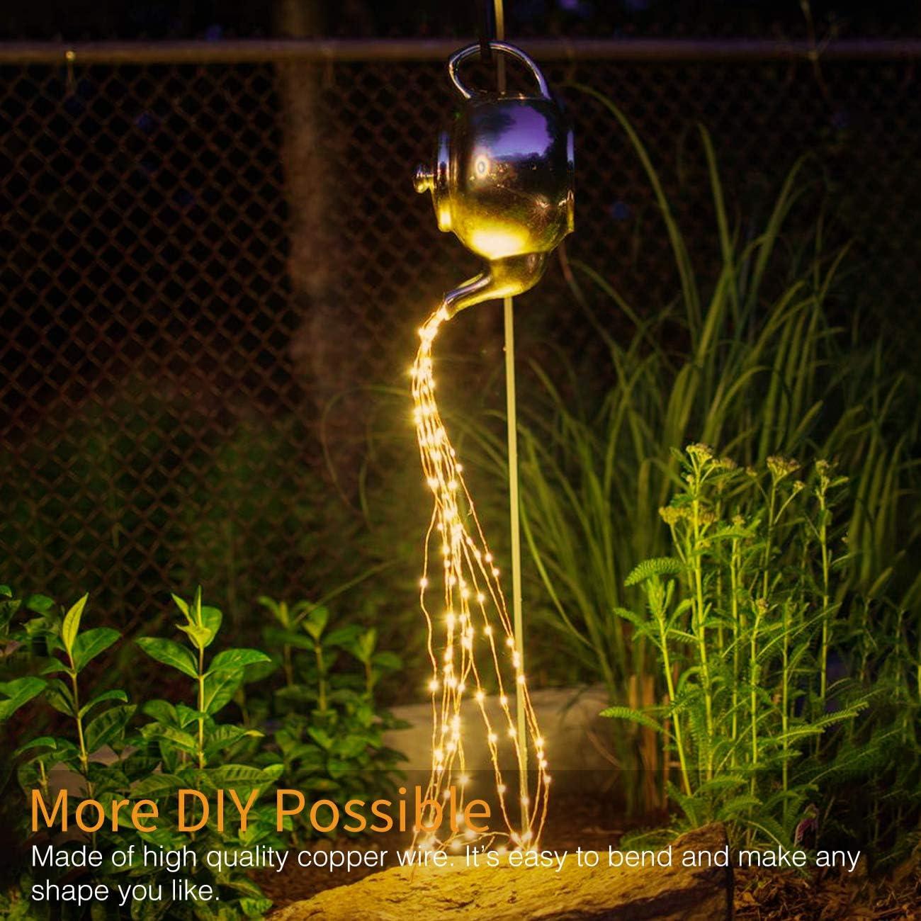 Guirnalda Luces Pilas Litogo Luces LED Pilas 12m 120 LED Luces LED Decoracion 8 Modos Impermeable Luces LED Cadena Micro con Funci/ón de Temporizador para Decoraci/ón Bodas Fiesta de Navidad 2 Pack