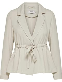 ONLY Damen Anzugjacke Onlcarolina L//S Long Blazer TLR