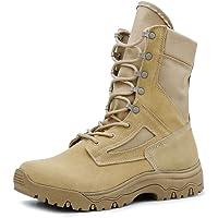 IODSON Zapatos de Hombre Botas/Botas de Combate/Botas Tácticas