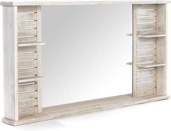 Alinea Marine Bain Miroir Double De Salle De Bain Gris 138 0x74 5x15 Amazon Fr Cuisine Maison