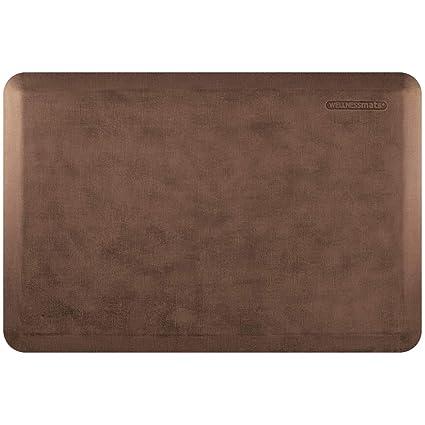 amazon com wellnessmats linen anti fatigue mat comfort support rh amazon com