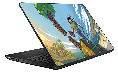 Gadgets Wrap Minecraft Laptop Decal For 156 Inch Laptop
