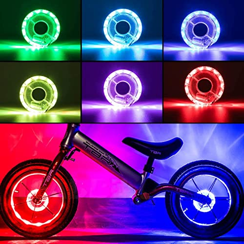 KUWAN Rechargeable Bike Wheel Light - LED Bike Spoke Lights