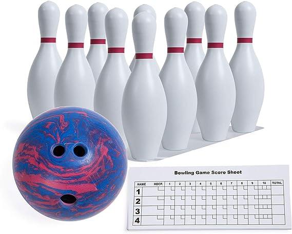 Champion Sports Kids Plastic Bowling Set