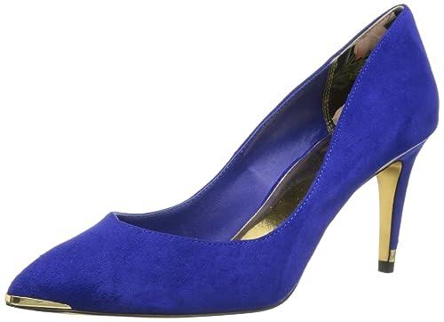 b7b11de04f0 Amazon.com: Ted Baker Women's Moniirra, Blue, 7.5 M US: Shoes