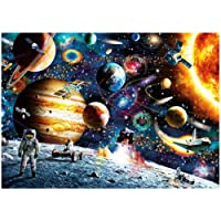 Mini 1000 Pieces Puzzles for Adults Kids Outer Space Traveler Jigsaw Puzzles