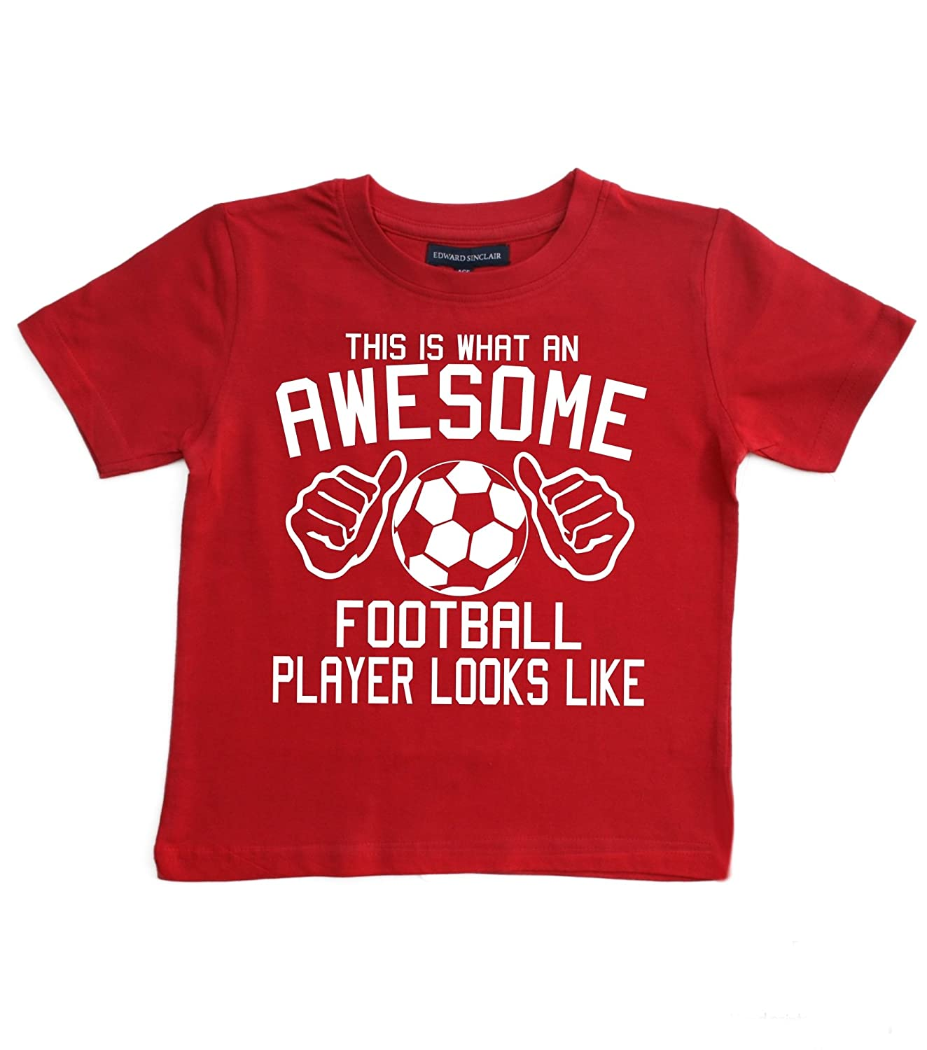 Edward Sinclair Baby Boys' This What An Awesome Player Looks Like T-Shirt
