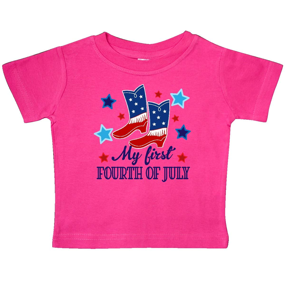 inktastic Cowgirl 1st 4th of July Holiday Baby T-Shirt