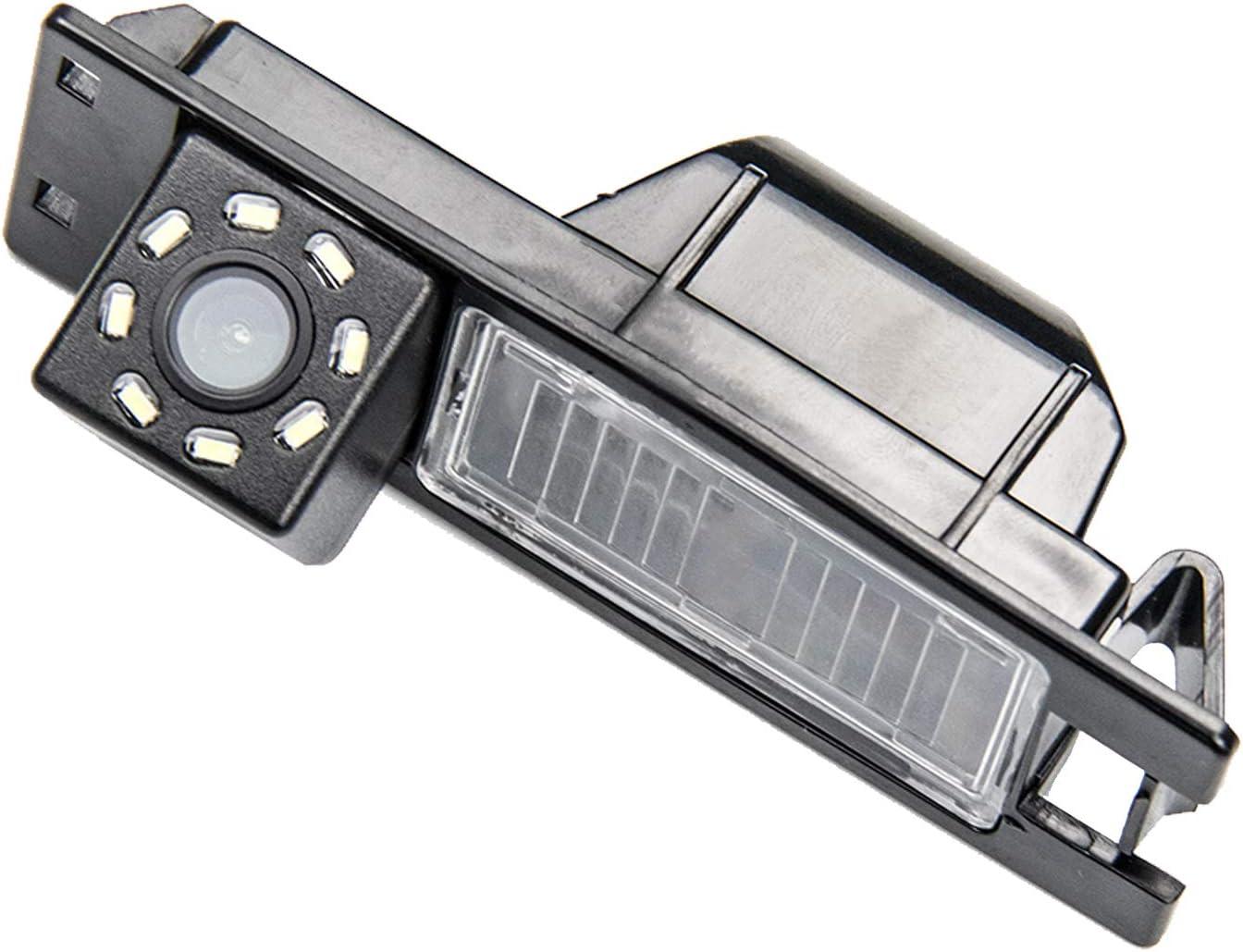 HD 720p Rear View Back Up Reverse Parking Camera in License Plate Waterproof Night Version (NTSC) for Alfa Romeo MiTo AR Furiosa Fiat Alfa Romeo 156/159 / 166/147 / Alfa Romeo Stelvio Spider Giu