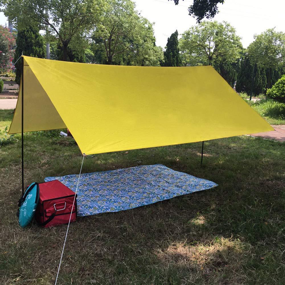 Springdoit Portable Shade Canopy Gazebo Awning Tent Cloth Camping Mat Camp 300x300cm Practical by Springdoit