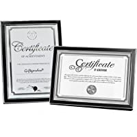Giftgarden Document Certificate Picture Frames A4 to Display a4 Size Photos for Wall Or Tabletop Decoration with Silver…