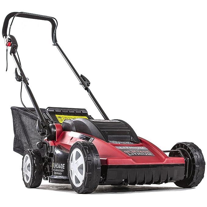 Greencut GLM360E - Cortacésped con tracción manual a batería de ...