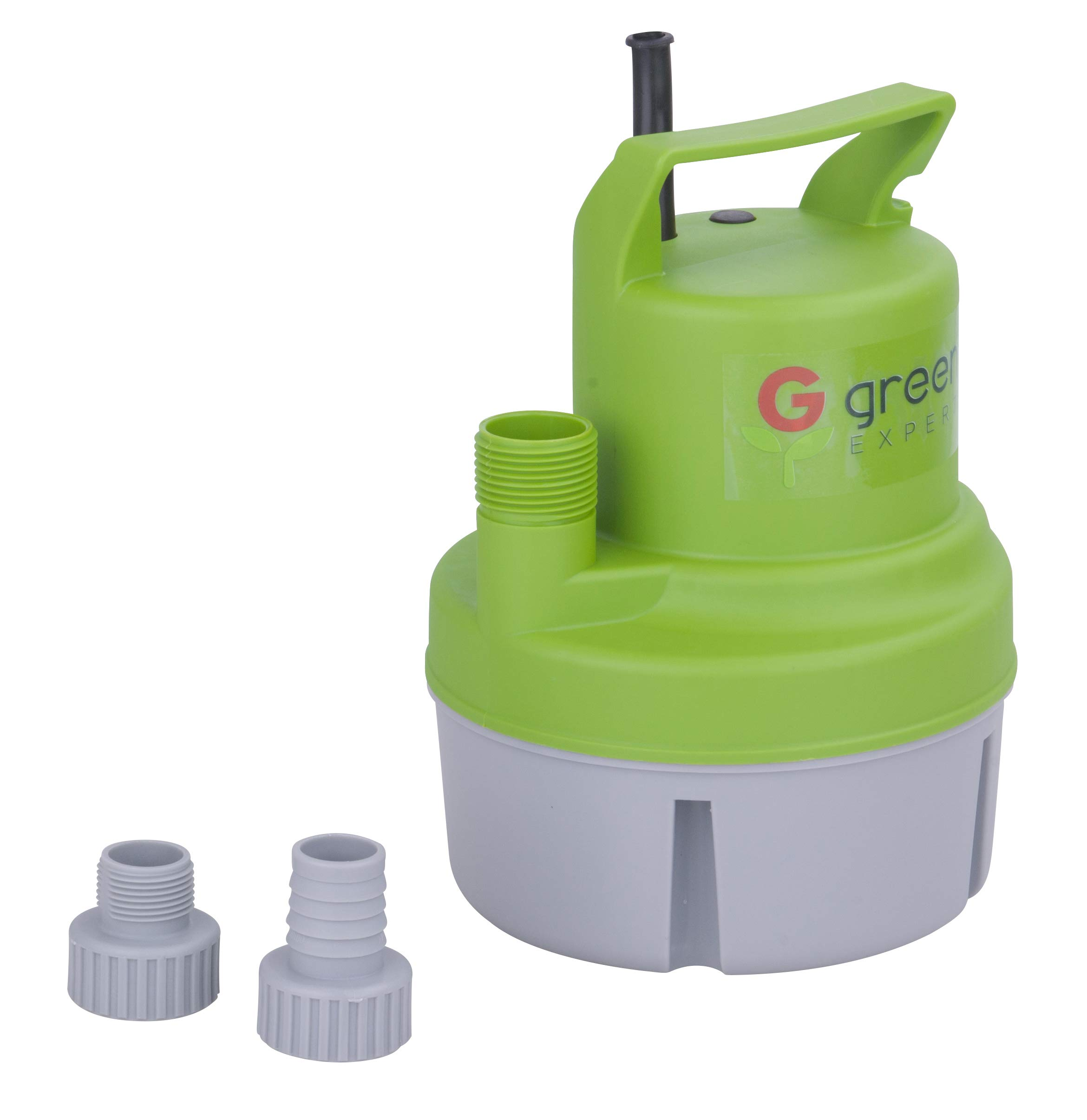 Green Expert 203617 1/6 HP Portable Submersible Utility Pump with 1056 GPH Flow Efficiently for Water Removal Basement Flood Drainage Pump with 3/4'' Adaptor Available for Standard Garden hose by G green EXPERT (Image #2)