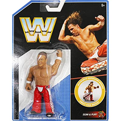 WWE Retro App Shawn Michaels Action Figure: Toys & Games