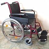 Bischoff Rollstuhl S-Top Sitzbreite 43 cm Armlehne lang, PU (pannensicher) bereift