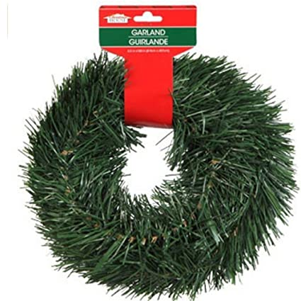 christmas decor christmas house artificial pine garlands 15 ft set of 2