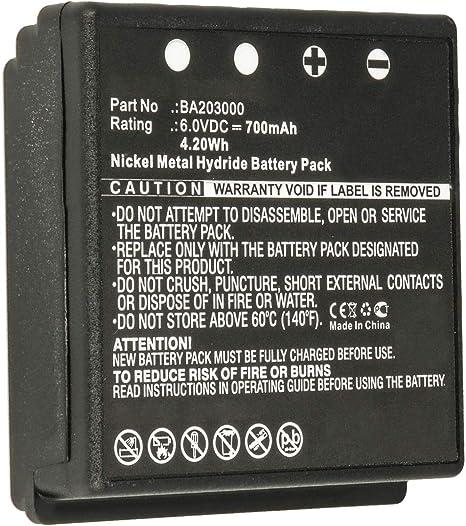 PM237745002 700mAh BA209061 BA209060 Akku kompatibel mit HBC BA209000 Fub9NM