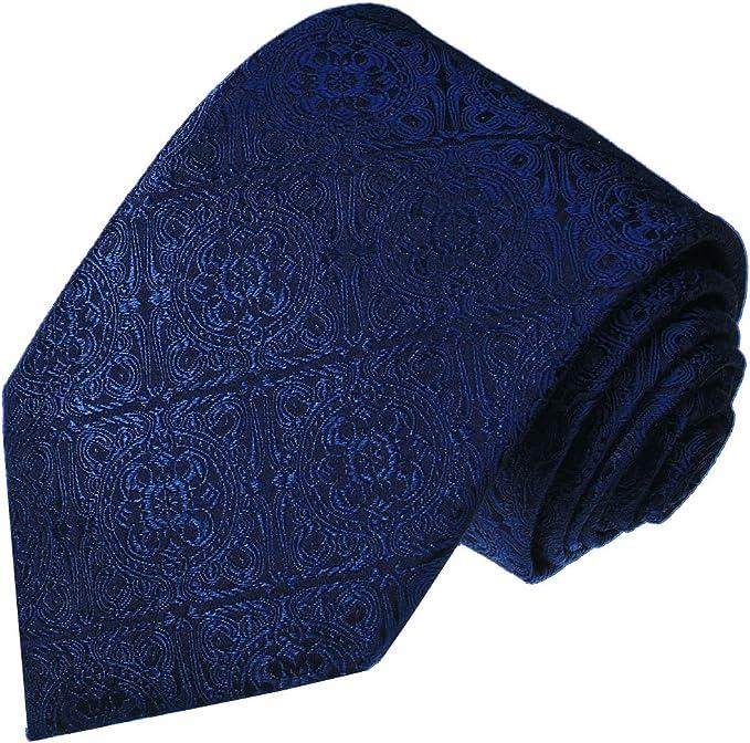 LORENZO CANA - Corbata - Paisley - para hombre azul Azul Oscuro ...