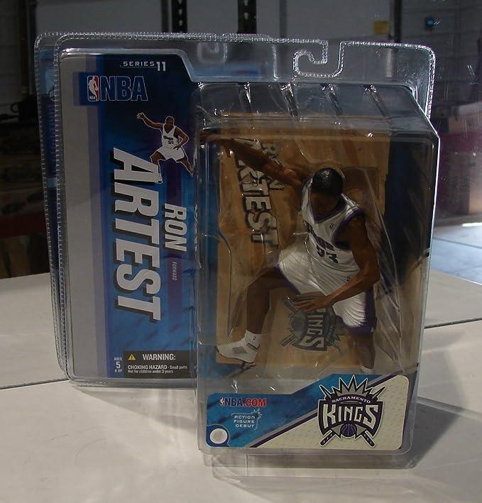 White NBA series 11 McFarlane figure Sacramento Kings Regular Ron Artest