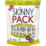 SkinnyPop Original Popped Popcorn, Skinny Pack, Gluten-free Popcorn, Non-GMO Vegan Snack, 0.65oz bags (Pack of 6)