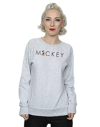 Disney mujer Minnie Mouse Kick Letter Camisa De Entrenamiento: Amazon.es: Ropa y accesorios