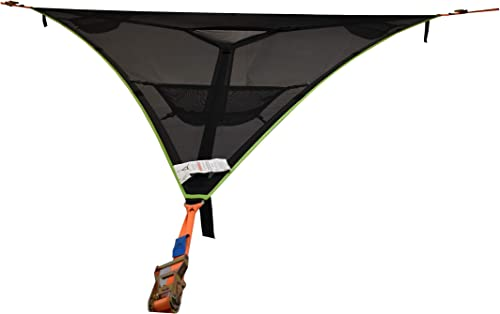 Tentsile Trillium XL Giant 6 Person Hammock – Patented 3 Point Design, Heavy Duty Ratchets and Straps Included
