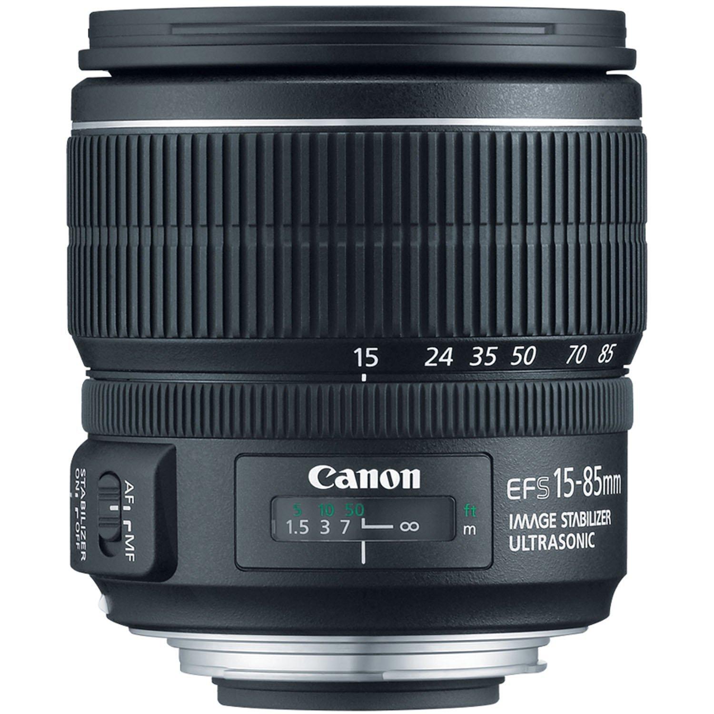 Canon EF-S 15-85mm f/3.5-5.6 IS USM UD Standard Zoom Lens for Canon Digital SLR Cameras (International Model) No Warranty