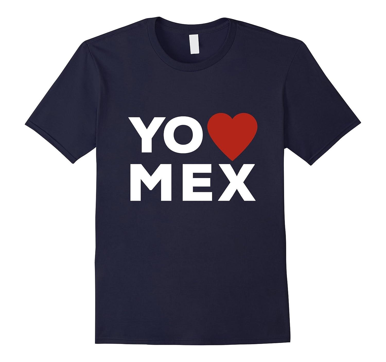 Yo Amo Mex I Love Mexico Red Heart T-shirt-TH