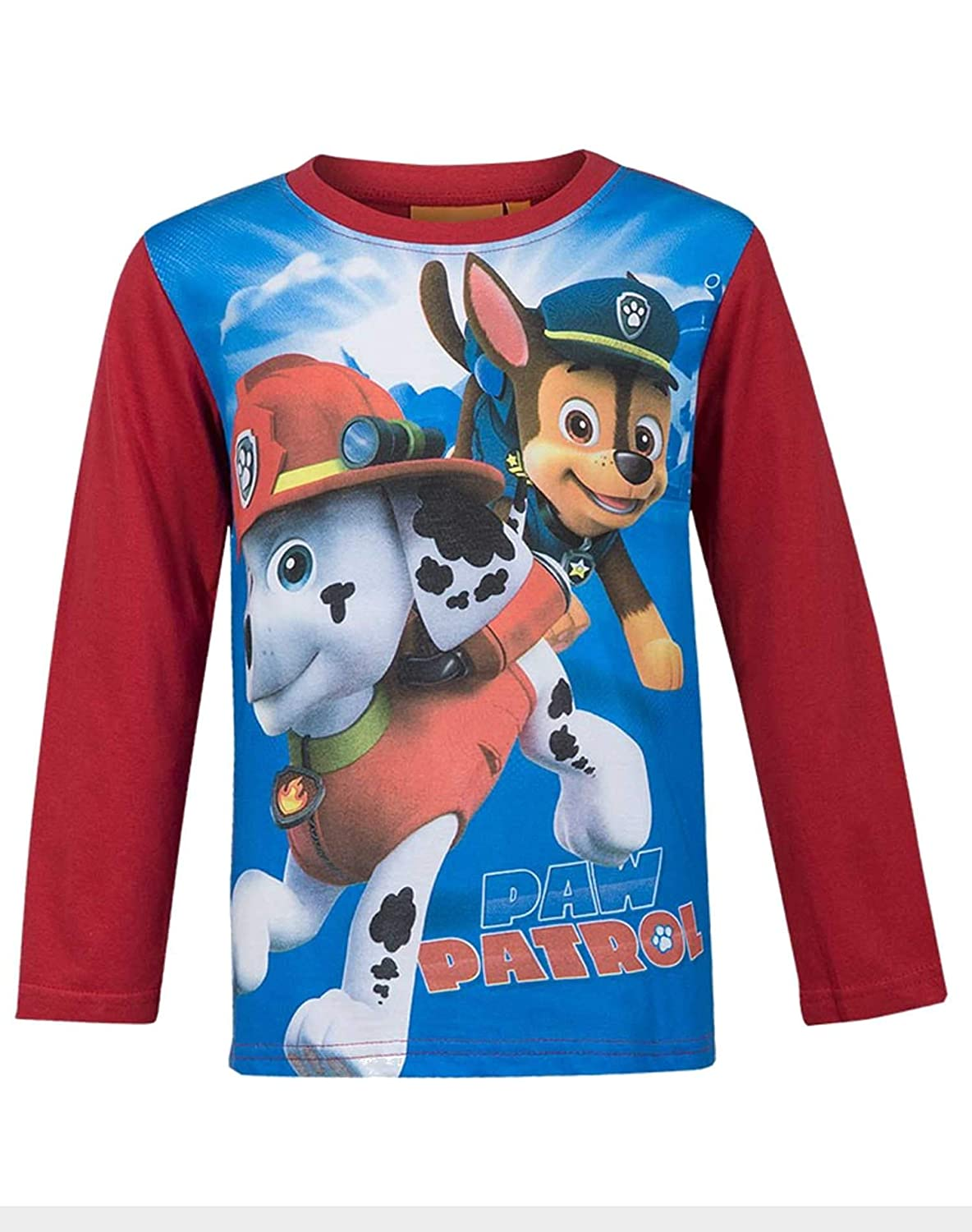 Jungen Ryder Chase Marshall Print Long Sleeve Top 4 bis 12 Jahre