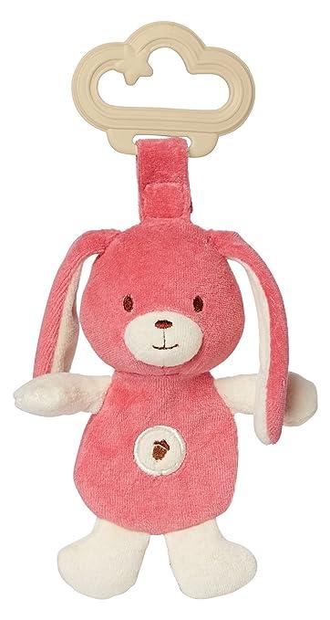 Amazon.com: Mi Natural sensorial mordedor, color rosa conejo ...