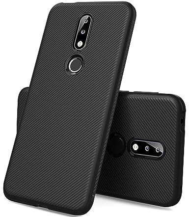 best service 11da3 84867 KuGi Nokia 7.1 Case, Nokia 7.1 Case, JS Scratch Resistant & Anti Slip  Grippy Soft TPU Case for Nokia 7.1 Case Smartphone