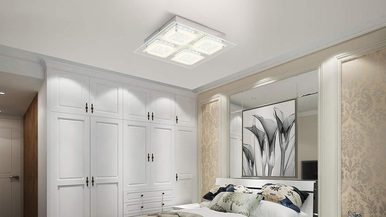 Plafoniera Led Da Soffitto : Plafoniera led da soffitto i lampada moderna a per l