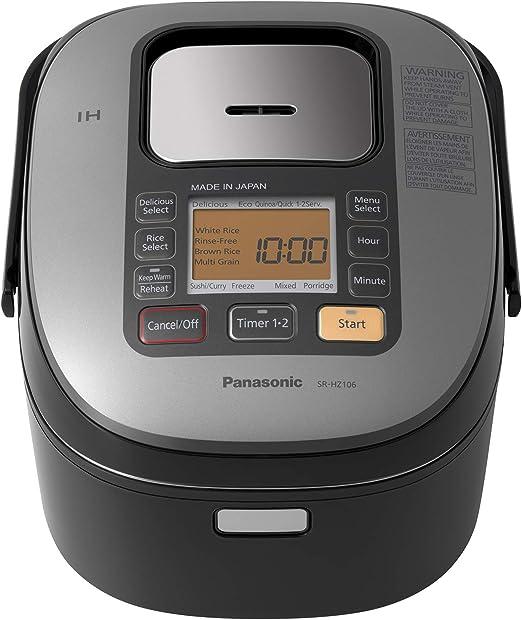 Amazon.com: Panasonic Arrocera |srhz106 K| 5.5-cup, multiuso ...