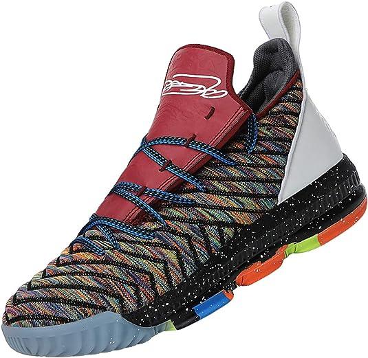 SINOES 2020 Botas de Baloncesto Altas para Hombre Primavera/Otoño Zapatillas de Deporte Transpirables para Correr Zapatillas de Deporte para Correr Tide Flow Zapatillas Deportivas Slip-Ons: Amazon.es: Zapatos y complementos