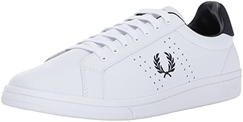 white 46 Fred Sneaker Uomo Eu Amazon White Perry Bianco B0FqwB