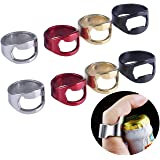 olyclass Stainless Steel Beer Ring Bottle Opener Pack of 22mm (8 pack)