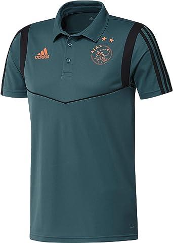 adidas AJAX Polo - Camiseta Hombre: Amazon.es: Deportes y aire libre