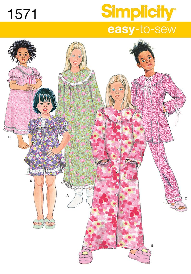 Simplicity Pajama Patterns Custom Design Inspiration