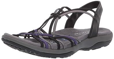 7e4fc27097a8 Skechers Women  39 s Reggae Slim-Slip Spliced-Gore Slingback Sandal