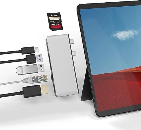 Microsoft Surface Pro X Usb C Hub Docking Station Computers Accessories