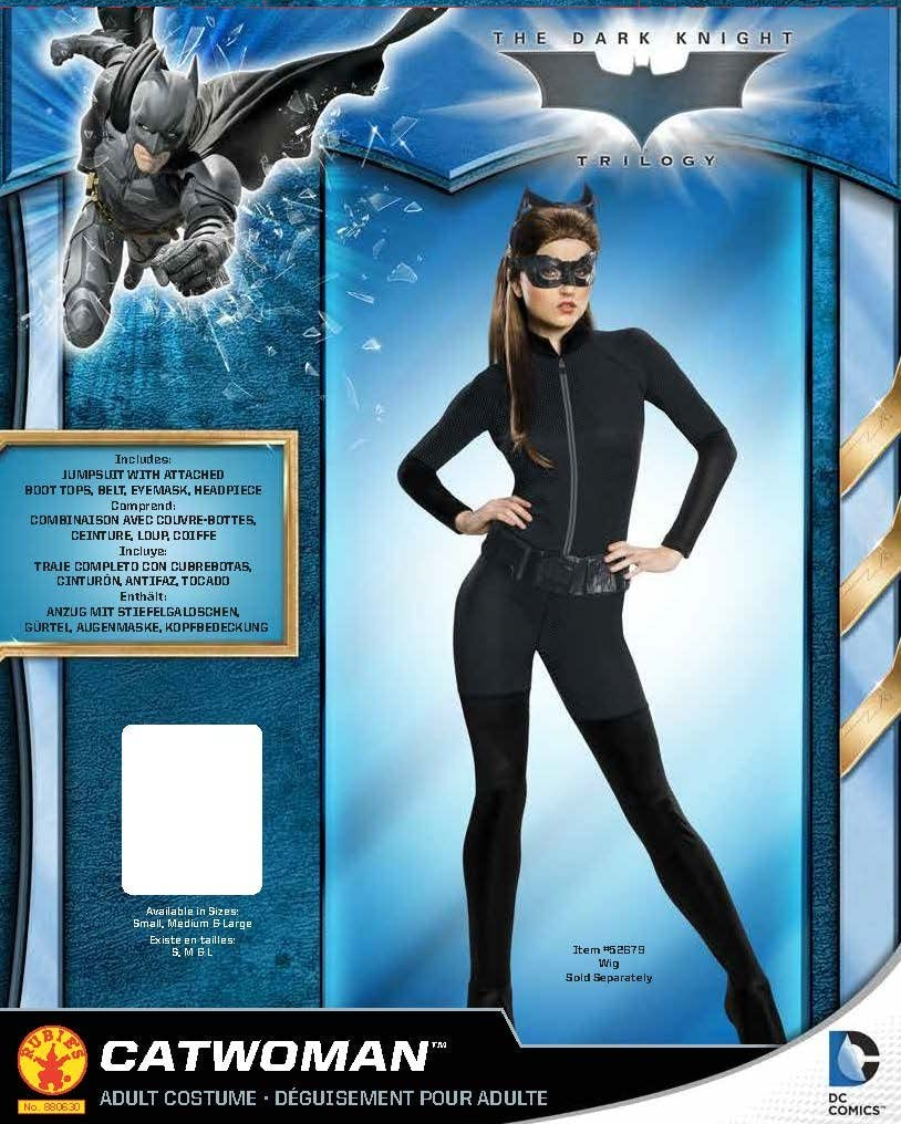 Rubies-d/éguisement officiel Catwoman CS928631//S D/éguisement Catwoman new movie Taille standard
