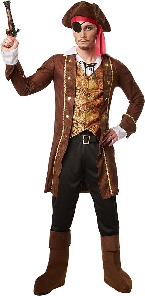 dressforfun Disfraz para hombre rey de los piratas | Abrigo con un ...