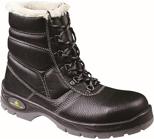 Delta plus calzado - Juego bota piel sintetico poliester negro talla 36(1par)