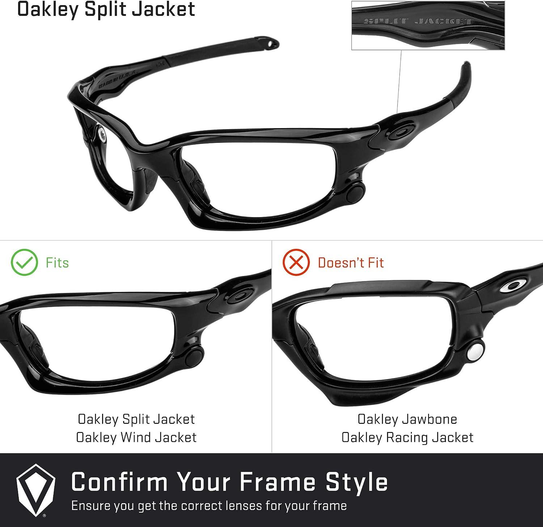 Revant Lenti di Ricambio Oakley Split Jacket (Taglia Asiatica) Rosso Fuoco Mirrorshield - Non Polarizzate
