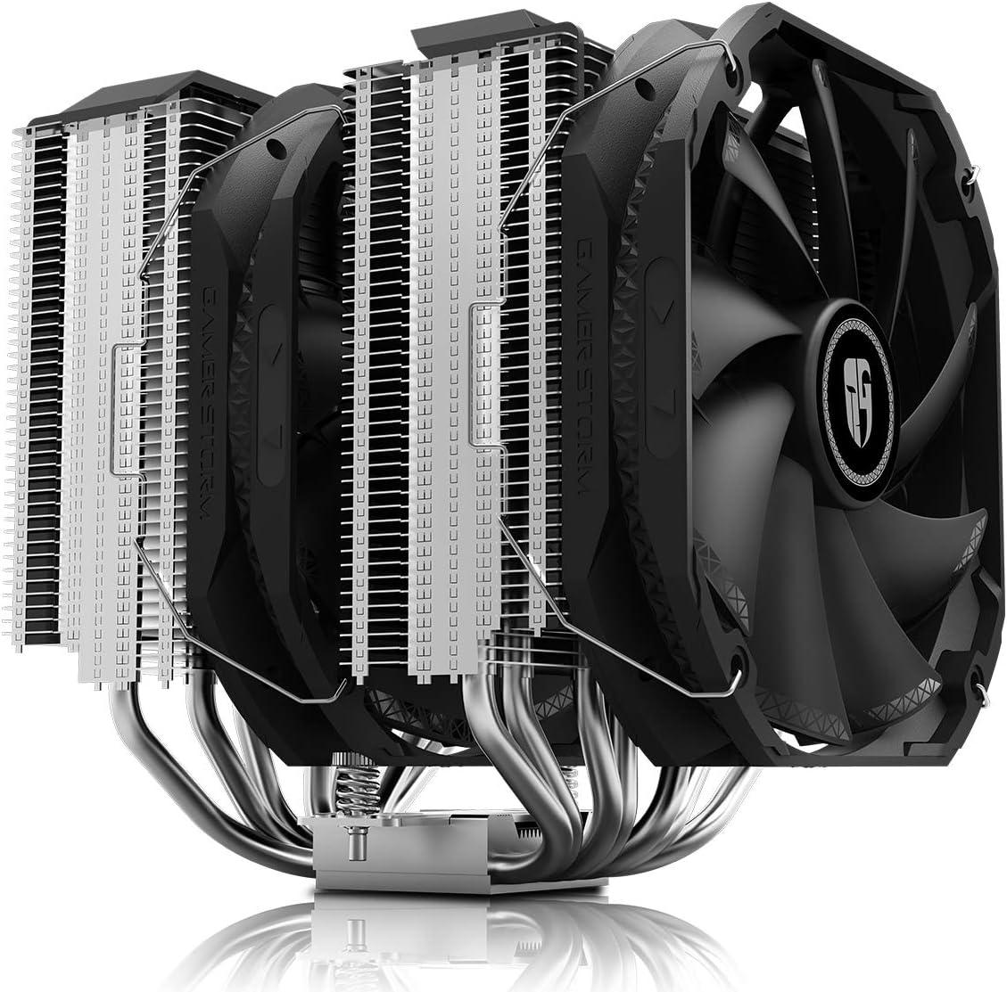 DEEP COOL Assassin III Air CPU Cooler, 7 Heatpipes, Dual 140mm Fans, 54mm RAM, 280W TDP, New Sinter Heatpipe Technology, 5-Year Warranty