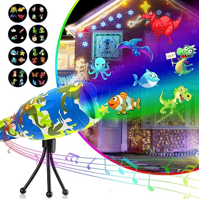 Amazon.com: Luces de cola raras proyector de juguete para ...