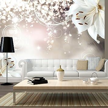 Wandtapeten  murando - Fototapete Blumen 350x256 cm - Vlies Tapete - Moderne ...