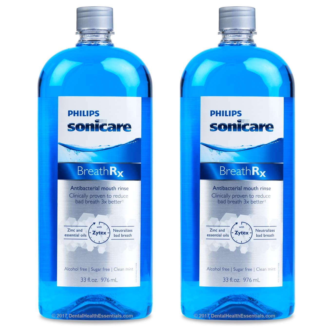 BreathRx DIS365 Mouth Rinse 33oz (2 Pack) by BreathRx