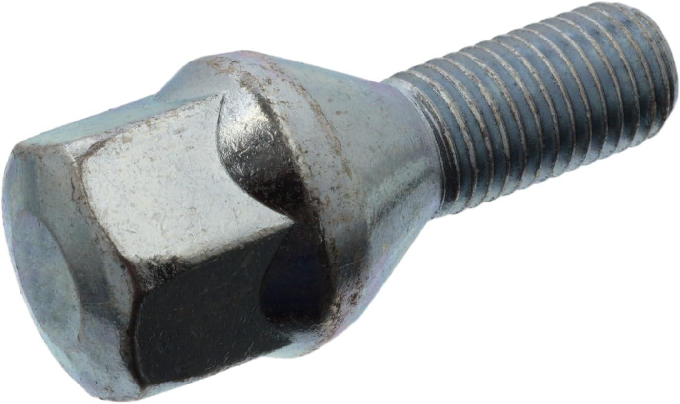 febi bilstein 02062 Radschraube M12 x 1,5; 51 mm f/ür Stahl und Leichtmetallfelge Vorderachse, Hinterachse
