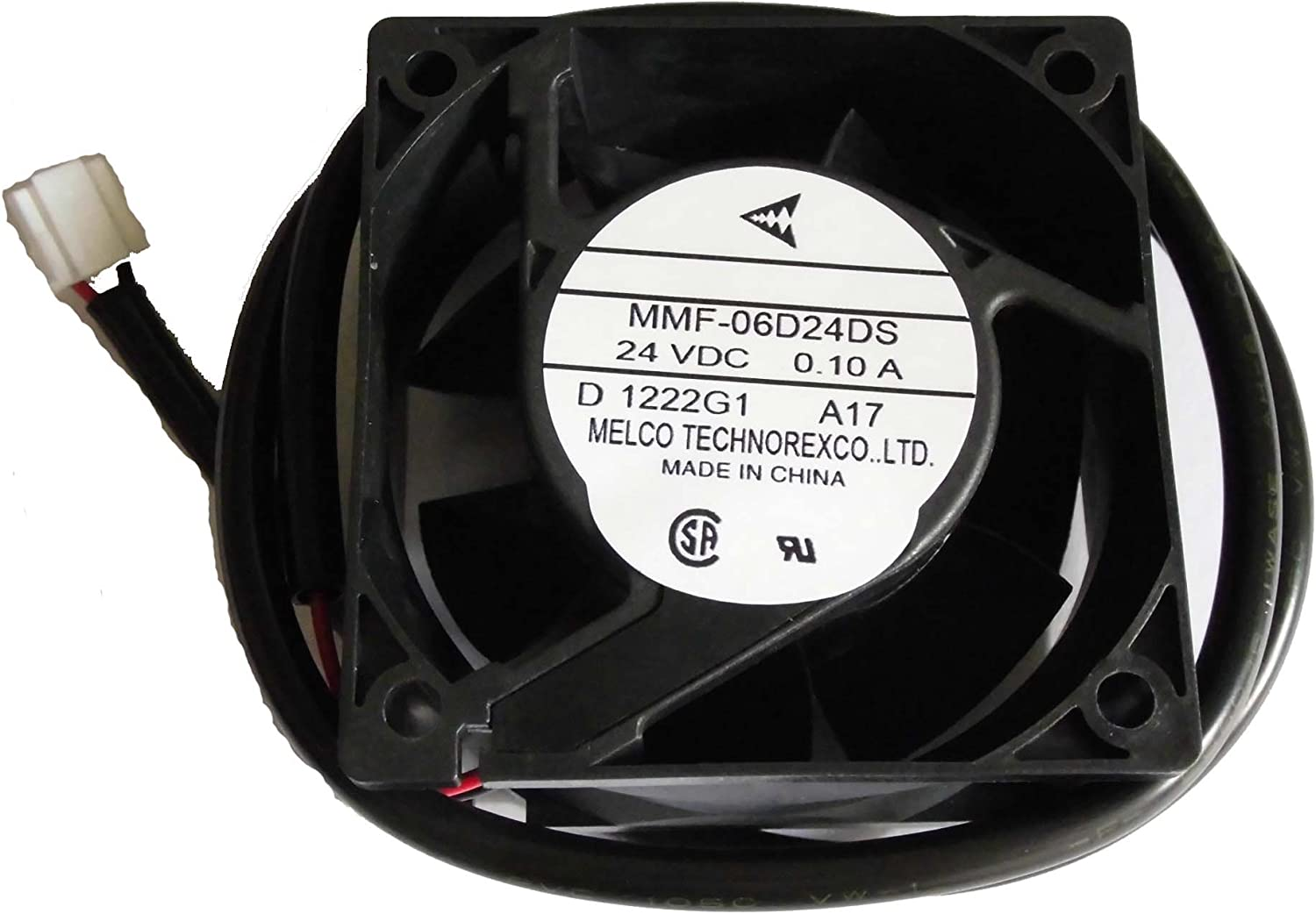 MITSUBISHI 60*25mm MMF-06D24DS A17 YASKAWA 300-017-249 24V 0.1A 2Wire Cooling Fan